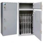 Металлические шкафы для оружейных комнат (5)